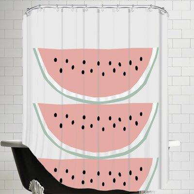 Melon Shower Curtain