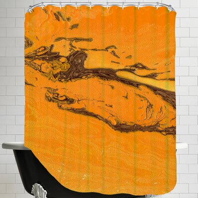 Splash of Fall Shower Curtain