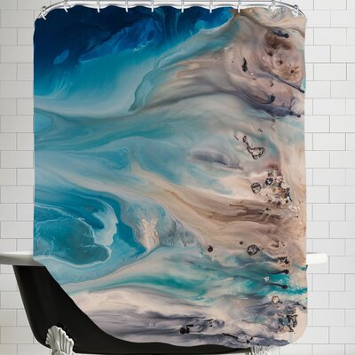 The Shore Beckons 2 Shower Curtain