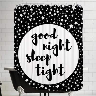 Goodnight Shower Curtain