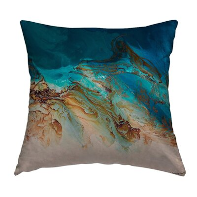 Serenity Throw Pillow Size: 20 H x 20 W x 1.5 D