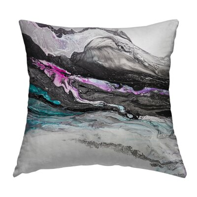 Reborn Throw Pillow Size: 16