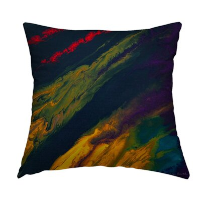 Radiance Throw Pillow Size: 16 H x 16 W x 1.5 D