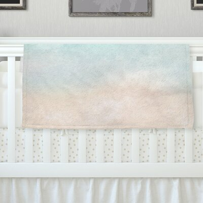 Vintage Skies by Michelle Drew Fleece Blanket Size: 40 L x 30 W