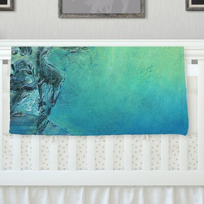September High by Josh Serafin Fleece Blanket Size: 60 L x 50 W