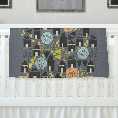 The Street Where I Live by Michelle Drew Fleece Blanket Size: 40 L x 30 W