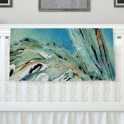 Drifter by Josh Serafin Fleece Blanket Size: 60 L x 50 W