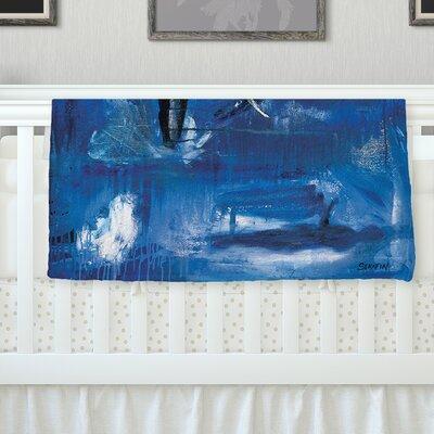 Release by Josh Serafin Fleece Blanket Size: 40 L x 30 W