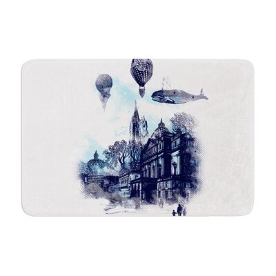 Strange Town by Frederic Levy-Hadida Memory Foam Bath Mat