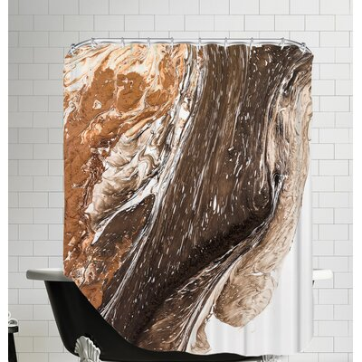 Unburdened Shower Curtain