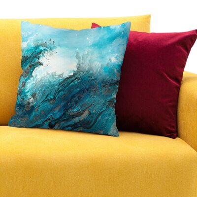 At Sea Throw Pillow Size: 18 H x 18 W x 1.5 D