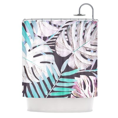 Shower Curtain Color: Pink/Blue