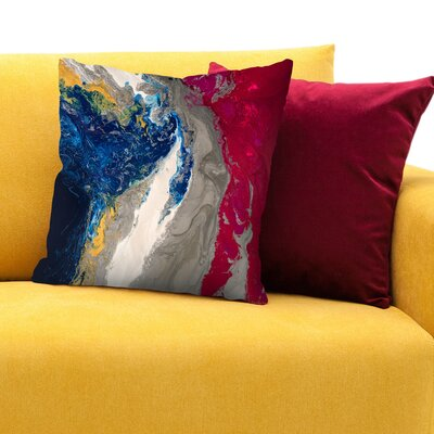 Compassion Throw Pillow Size: 14 H x 14 W x 1.5 D