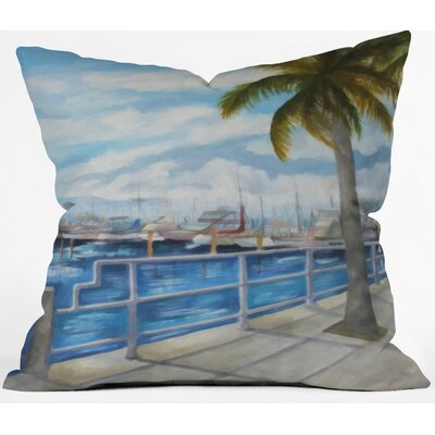 Outdoor Throw Pillow Size: 18 H x 18 W x 5 D