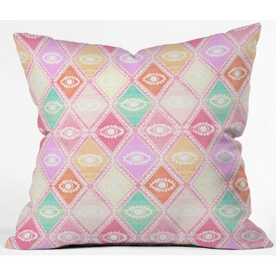 Outdoor Throw Pillow Size: 18