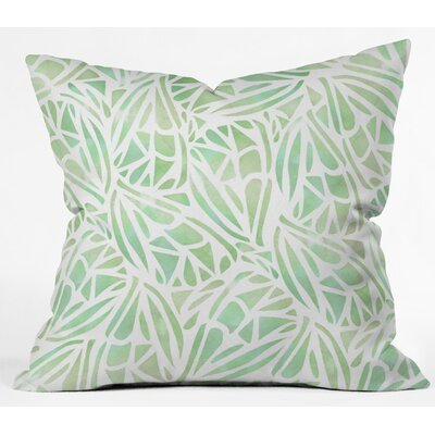 Outdoor Throw Pillow Size: 26 H x 26 W x 5 D, Color: Green