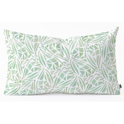 Lumbar Pillow Size: 16 H x 26 W x 5 D, Color: Green