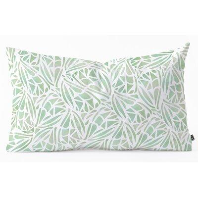 Lumbar Pillow Size: 14 H x 23 W x 5 D, Color: Green