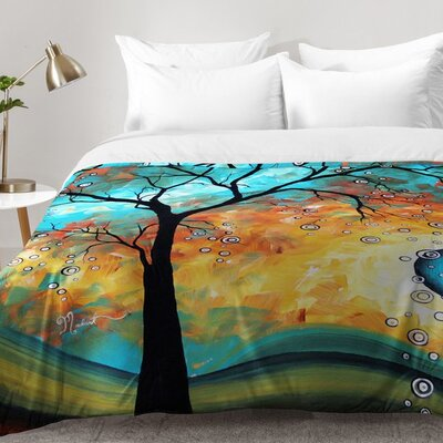 Aqua Burn Comforter Set Size: Full/Queen