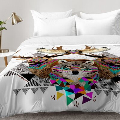 Forest Friends Comforter Set Size: King