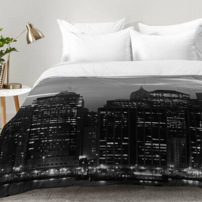 New York Financial District Comforter Set Size: Twin XL