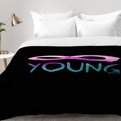 Forever Young 2 Comforter Set Size: Twin XL