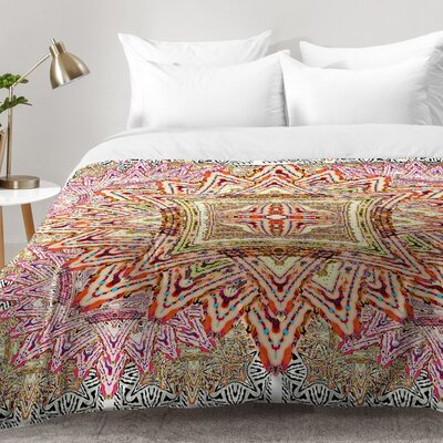 Boho Vintage Comforter Set Size: Full/Queen