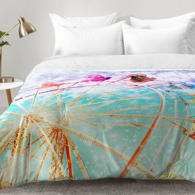 Galaxy Wheel Comforter Set Size: Full/Queen