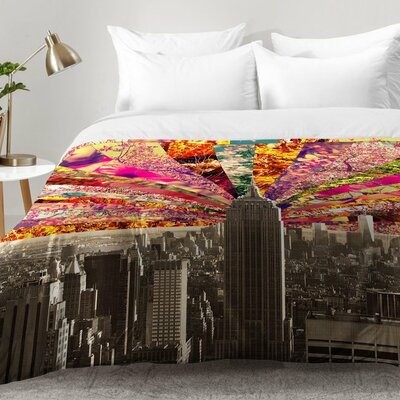 Bianca Green Blooming NY Comforter Set Size: Full/Queen