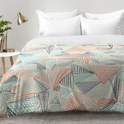 Jenean Morrison Gridlocked Multi Comforter Set Size: King