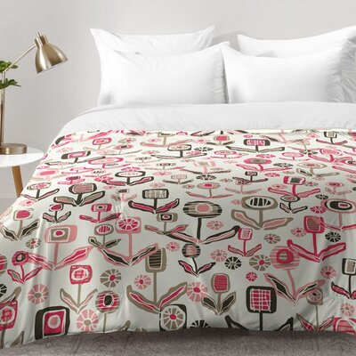 Floral Playground Comforter Set Size: Full/Queen