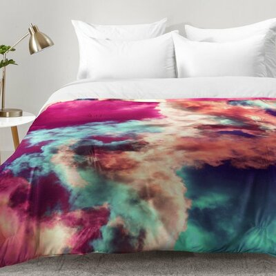 Painted Clouds Comforter Set Size: King