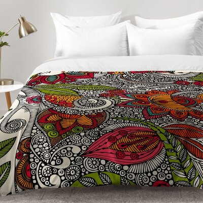 Flowers Comforter Set Size: King