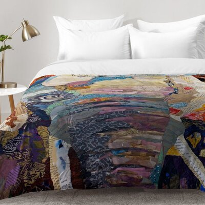 Elizabeth St Hilaire Nelson Elephant Comforter Set Size: King