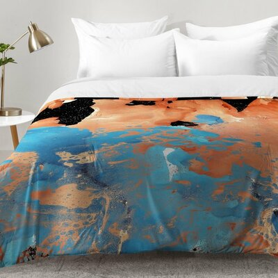 Amy Sia Marble Inversion II Comforter Set Size: Twin XL