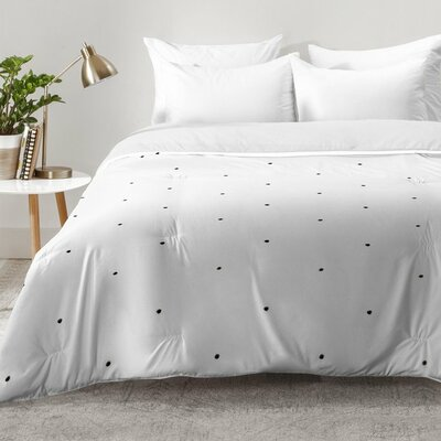 Tiny Dot Comforter Set Size: Full/Queen
