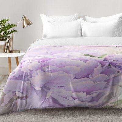 Peonies Comforter Set Size: Twin XL