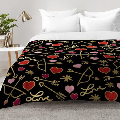 Cupid Love Comforter Set Size: King