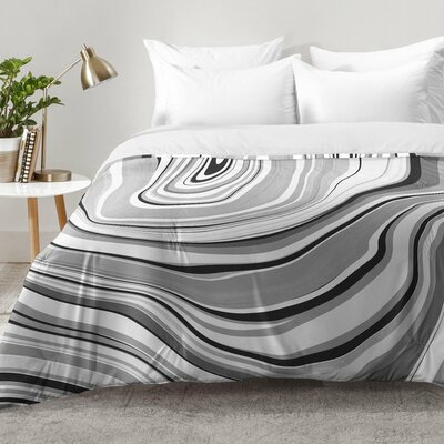 Marble Comforter Set Size: King