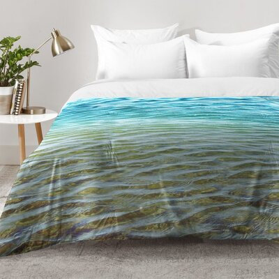 Shannon Clark Ombre Sea Comforter Set Size: Full/Queen