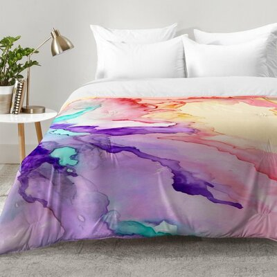 Rosie Brown Color My World Comforter Set Size: King