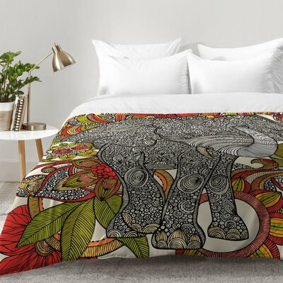 Bo The Elephant Comforter Set Size: Full/Queen