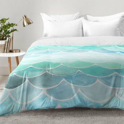 Mermaid Scales Comforter Set Size: Full/Queen