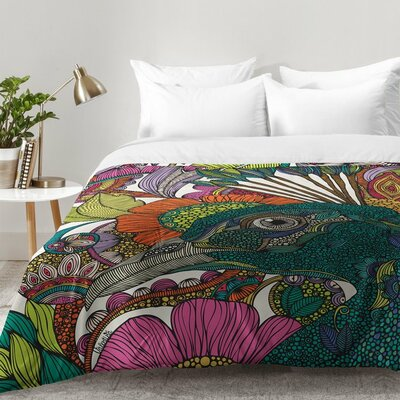 Valentina Ramos Alexis and The Flowers Comforter Set Size: King