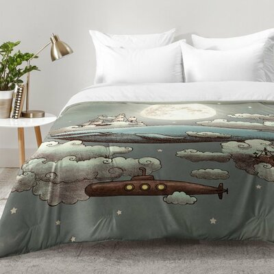 Ocean Meets Sky Comforter Set Size: Full/Queen