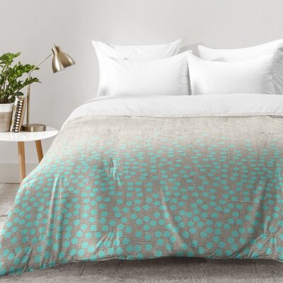 Iveta Abolina Hint Of Mint Comforter Set Size: King