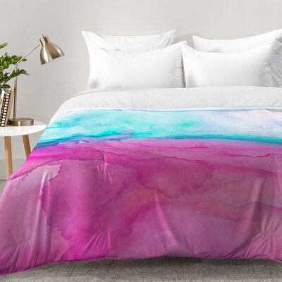 Tidal Color Comforter Set Size: Full/Queen