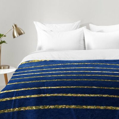 Social Proper Nautical Sparkle Comforter Set Size: King
