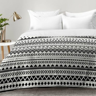 Aztec Pattern Comforter Set Size: King