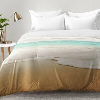 Ombre Beach Comforter Set Size: Twin XL